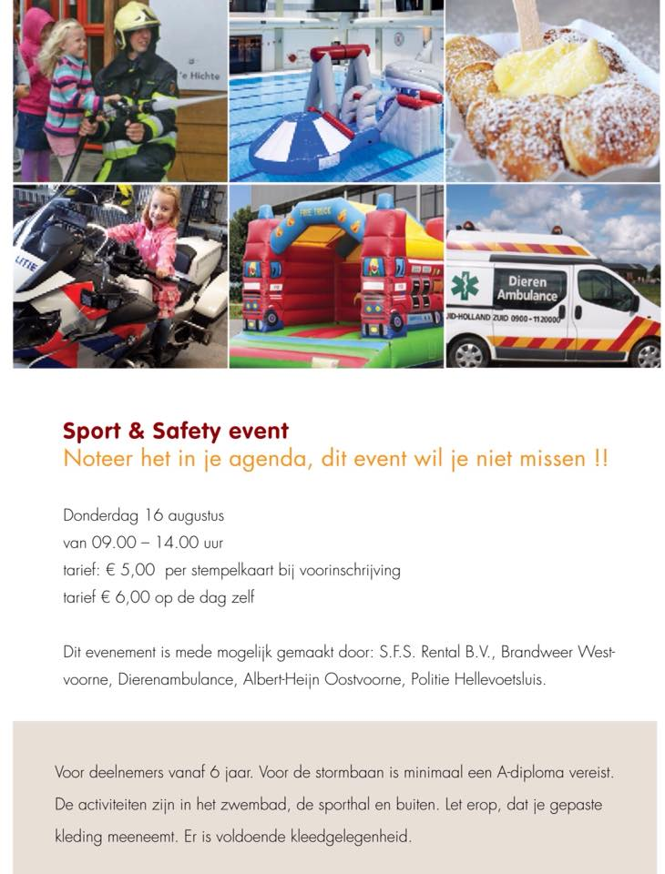 Sport & Safety event 2018 – Oostvoorne