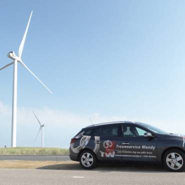 Reclame auto Trouwservice Wendy